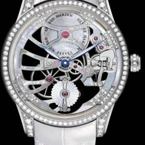 Ulysse Nardin CLASSIC SKELETON TOURBILLON LADY White Gold Case...