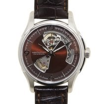 Hamilton 爵士系列 Stainless Steel Dark Brown Automatic H32565595