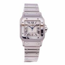 Cartier Santos Quartz Mens Watch W20060D6 (Pre-Owned)