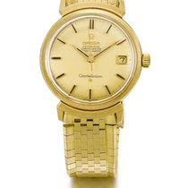 Omega | A Yellow Gold Automatic Centre Seconds Wristwatch With...