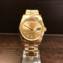 Rolex Day-Date Yellowgold Champagne Dial 118238