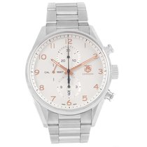 TAG Heuer Carrera Chronograph Silver Dial Mens Watch Car2012