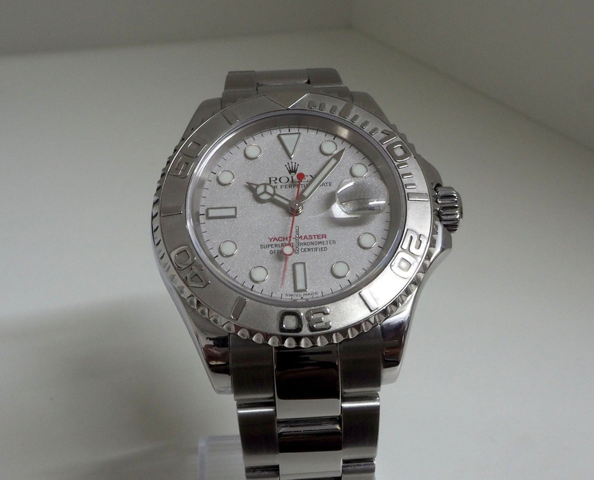 a5dca844f36 Rolex Yachtmaster Rolesium 40mm Ref. 16622 for C  8