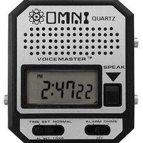 Omni Mans talking Wristwatch Voicemaster with robotic Voice...