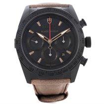 튜더 (Tudor) Fastrider Blackshield Alcantara Strap Ceramic Watch...