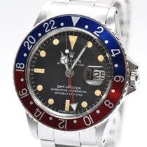 Ρολεξ (Rolex) Rolex GMT Master Ref.1675 Vintage Pepsi Stahl...