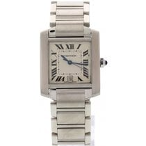 Cartier Stainless Steel Cartier Tank Automatic 2302