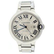 Cartier Ballon Bleu Large 42mm Stainless Steel Watch, Box...
