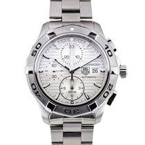 TAG Heuer Aquaracer Chronograph Steel White Calibre 16