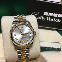 Rolex Cally - 178343 31mm Datejust Gold Steel Silver VI SALES