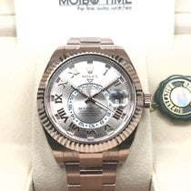 Rolex Sky-Dweller 18K Everose Gold Pink Sundust dial Rose [NEW]