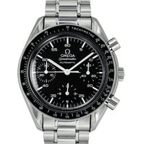 Omega Speedmaster Reduced Automatic Stainless Steel Watch...