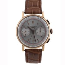 Longines Vintage Rose Gold 30CH Chronograph