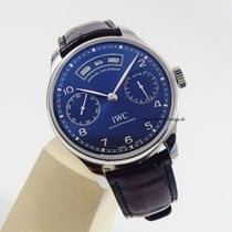 IWC Portugieser Annual Calendar IW503502 top condition box paper