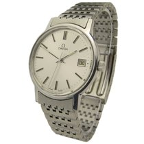 Omega Steel Mechanical Wristwatch