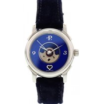 Perrelet Stainless Steel Perrelet Lady Coeur Blue Dial Automatic