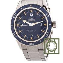 Omega Seamaster 300m co-axial titanium blue dial