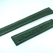 Breitling Band 18mm Hai Grün Green Shark Strap Correa Für...