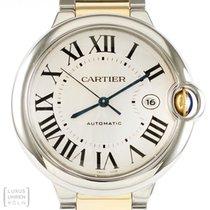 Cartier Uhr Ballon Bleu Automatik Ref. W69009Z3 B&P 2009