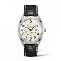Longines Railroad Automatic Stainless Steel White Dial Mens...