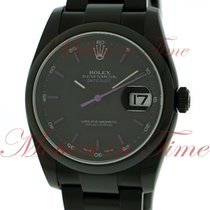 Rolex Datejust 36mm, Black Index Dial with Purple Numerals,...