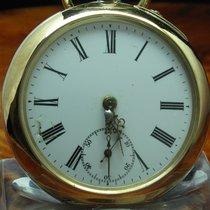 Albert Kenel & Co. 800 Silber / Gold Mantel Open Face...