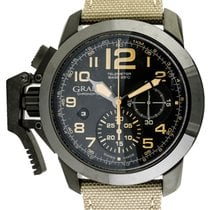 Graham : Chronofighter Oversize Black Sahara :  2CCAU.B02A : ...