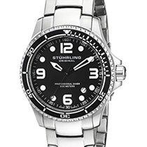 Stuhrling Original Grand Regatta Men's Quartz Watch with Black...