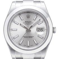 롤렉스 (Rolex) Rolex Datejust II 41mm Stahl Ref. 116300 Silber Index