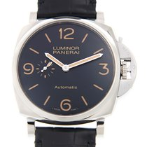 파네라이 (Panerai) New  Luminor Stainless Steel Black Automatic...