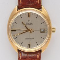 Omega Seamaster Cosmic vintage 1968 18k gold automatic 35mm