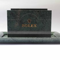 Rolex Genuine Magazine / Catalogue Holder  Green Marble