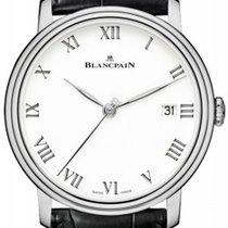 Blancpain Villeret 8 Days White Enamel Dial 18kt White Gold...