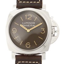 沛纳海  (Panerai) Luminor Stainless Steel Brown Manual Wind PAM00663