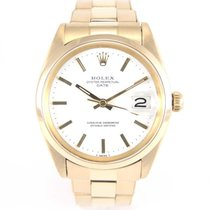 Rolex Date 1500 vintage yellow gold