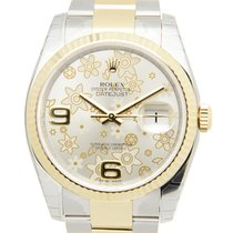Rolex Datejust 18k Gold Steel Gold Automatic 116233SVFLO_O
