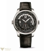 Girard Perregaux WW.TC Small Second Stainless Steel Men's...