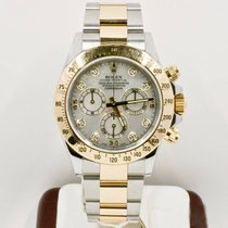 Rolex Daytona 116523 Mother Of Pearl Diamond Dial