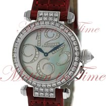 Cartier Pasha 32mm Ladies, Mother of Pearl Diamond Dial,...