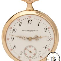Patek Philippe 18K Rose Gold 32mm White Dial Circa 1906 Pocket...