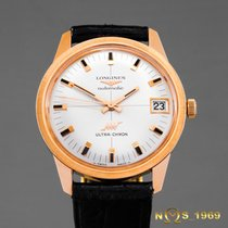 Longines Ultra Chron 18K Gold Rose Automatic Cal431 BOX