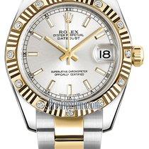 롤렉스 (Rolex) Datejust 31mm Stainless Steel and Yellow Gold...