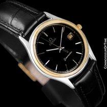 Omega 1980's Seamaster Brest Vintage Mens Quartz Watch -...