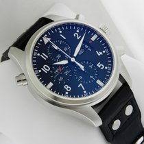 IWC Pilot's Double Chronograph 46mm Stainless Steel...