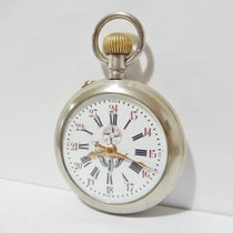 Other SYSTEME ROSKOPF – Old pocket watch with chiselled casing...