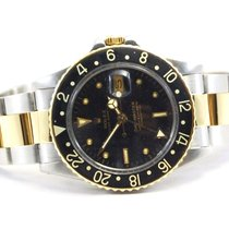 Ρολεξ (Rolex) GMT-Master Two Tone 18kt Yellow Gold/SS Black...
