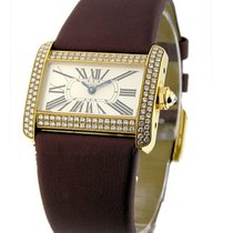 Cartier WA301071 Tank Divan - Small Size - Yellow Gold on...