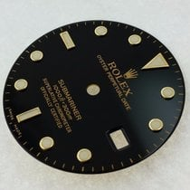 Rolex Dial Submariner S Luminova Black Gold/2tn 16613 16618...