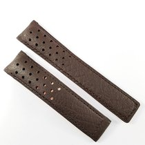 TAG Heuer 20mm brown calf leather strap perforated FC6267...
