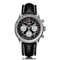 Breitling Limited Edition Cosmonaute 1962 Black Mens Chronogra...